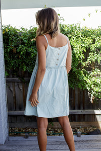 LILA MINI DRESS - SAGE
