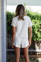 Load image into Gallery viewer, COOPS KNITTED SHORTS - CREAM