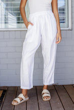 Load image into Gallery viewer, NOMA LINEN PANT - WHITE