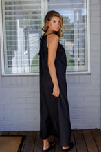 Load image into Gallery viewer, VOILE MAXI DRESS - BLACK