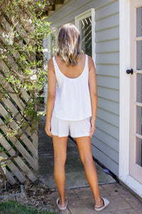 TILLY SHORT - WHITE