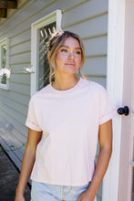 Load image into Gallery viewer, ALL ABOUT EVE WASHED TEE - MUSK