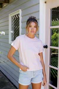 ALL ABOUT EVE WASHED TEE - MUSK