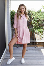 Load image into Gallery viewer, FRANKIE DRESS - ROSE