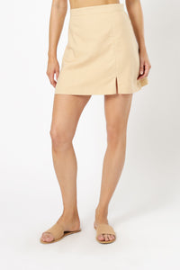 EMERSYN SKIRT - BUTTER
