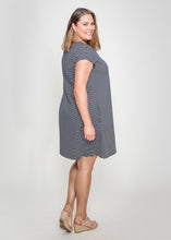 Load image into Gallery viewer, NELA DRESS - NAVY STRIPE