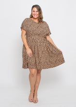 Load image into Gallery viewer, ASHER DRESS - LEOPARD