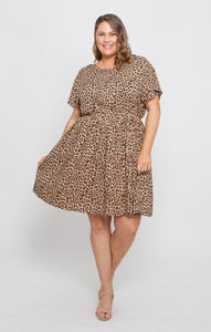 ASHER DRESS - LEOPARD