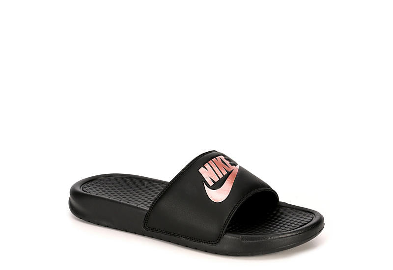 NIKE BENASSI -WOMENS BLACK