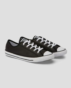 CHUCK TAYLOR ALL STAR DAINTY LEATHER - BLACK