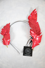 Load image into Gallery viewer, IVY FASCINATOR - RED