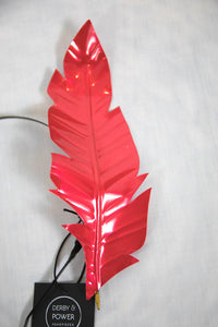 IVY FASCINATOR - RED
