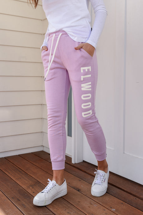 HUFF + PUFF TRACK PANTS - THISTLE