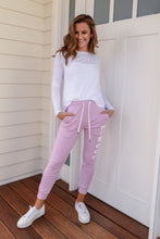 Load image into Gallery viewer, HUFF + PUFF TRACK PANTS - THISTLE