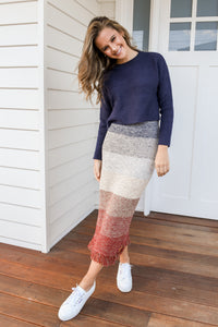 TOOBY KNIT - NAVY