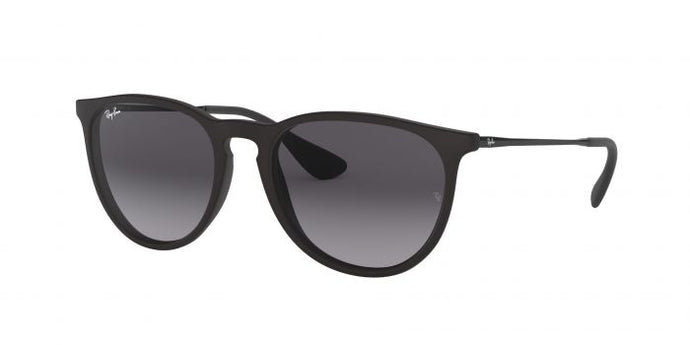 ERIKA - RUBBER BLACK W/ LIGHT GREY GRADIENT (NOT POLARIZED)