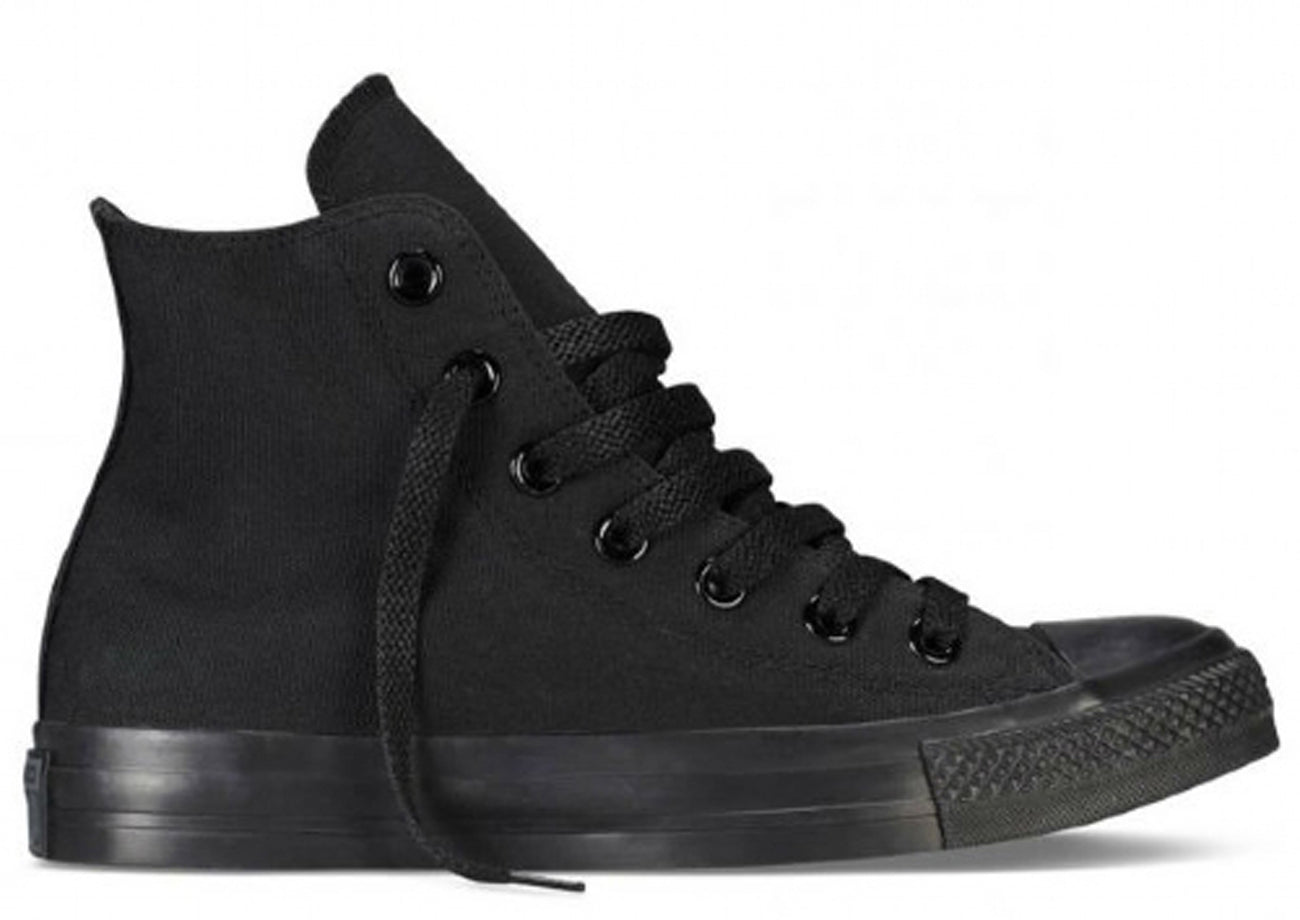Chuck Taylor All Star Hi Canvas - Black Monoch