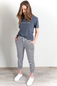 FALLING BRICKS PANT - STRIPE