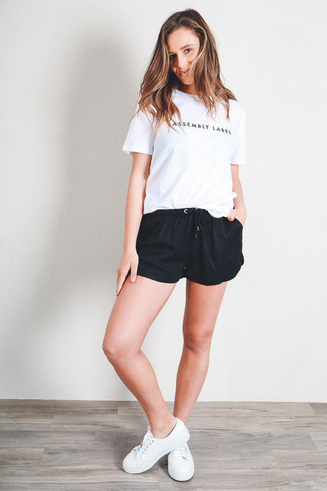 RELAXED DAY SHORT - BLACK