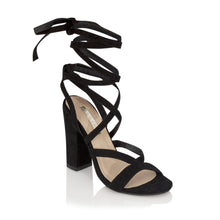 Load image into Gallery viewer, Preen - Black Suede