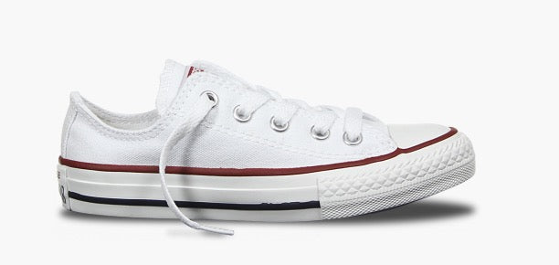 CHUCK TAYLOR ALL STAR YOUTH CANVAS LOW - WHITE