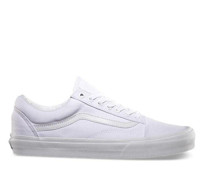 OLD SKOOL PLATFORM - TRUE WHITE