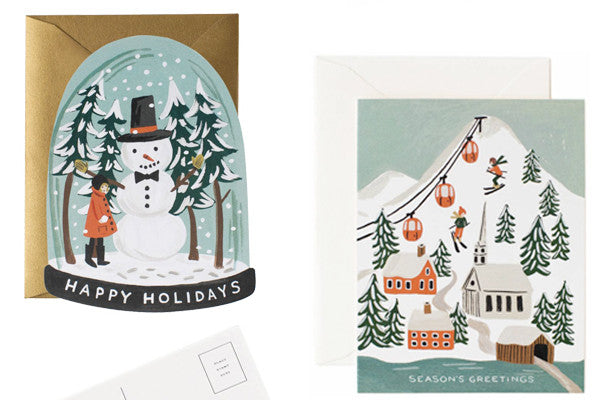 Christmas Cards and Gift Tags from Rifle Paper Co.