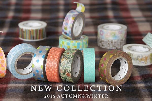 MT Masking Tape's AW15 collection is here and it's washi tape heaven.