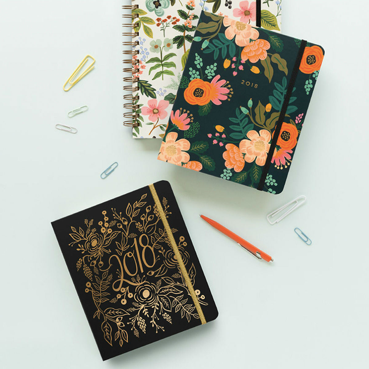rifle paper co planners 2018