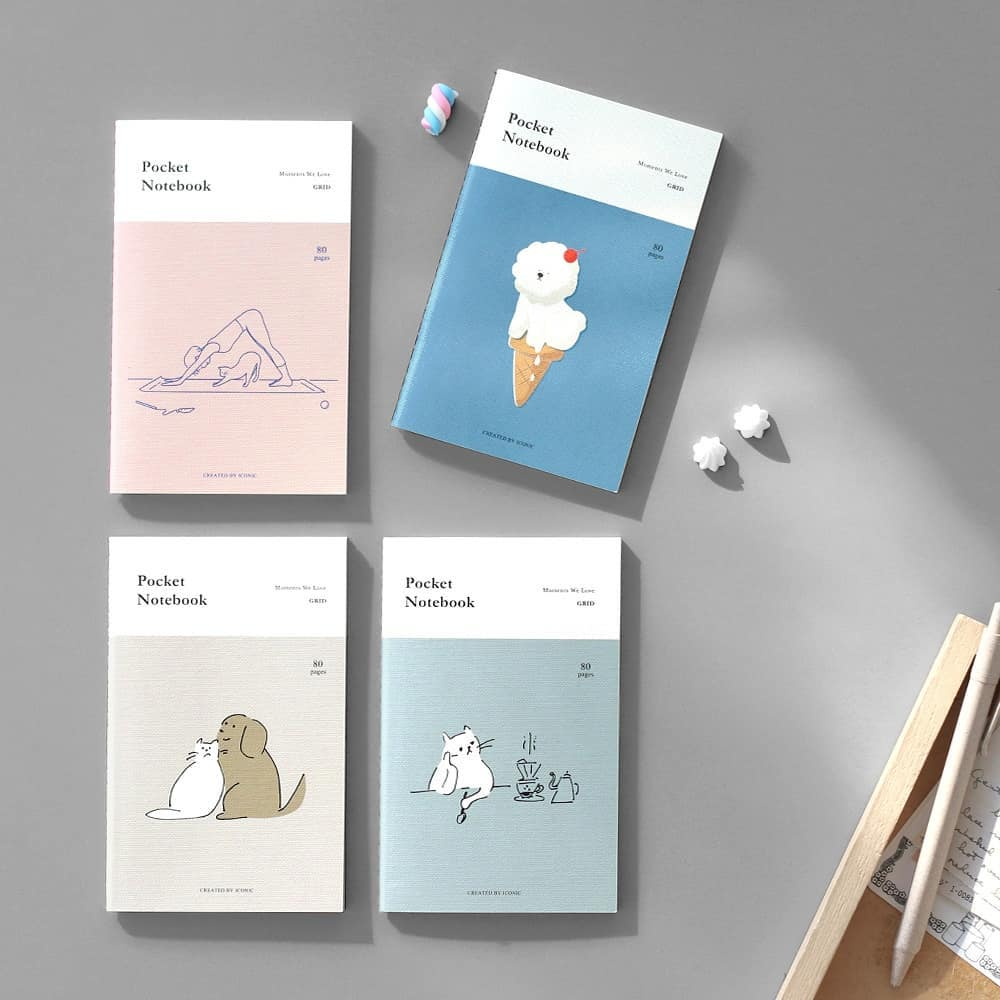 pocket notebooks by Iconic