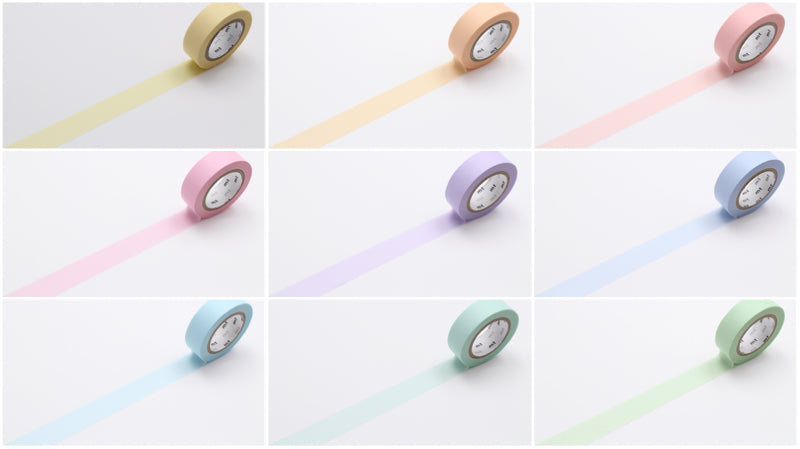 pastel washi tapes