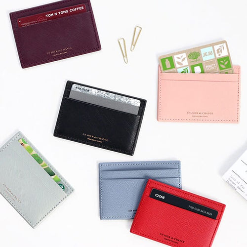 iconic flat pocket card holder