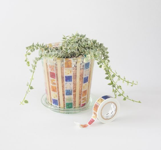 Plant Pot Washi Tape