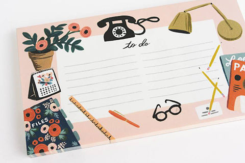 rifle paper co to do list pad