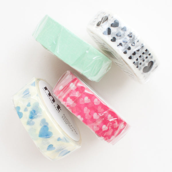 mt heart washi tapes