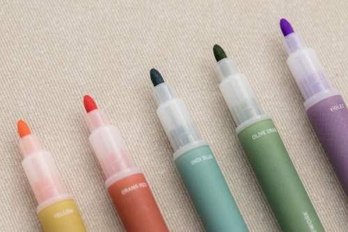 livework vintage twin highlighter pens