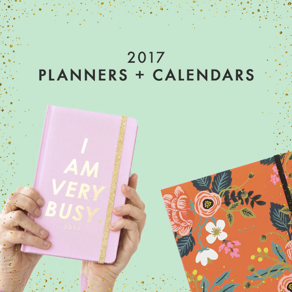 2017 planners and calendars