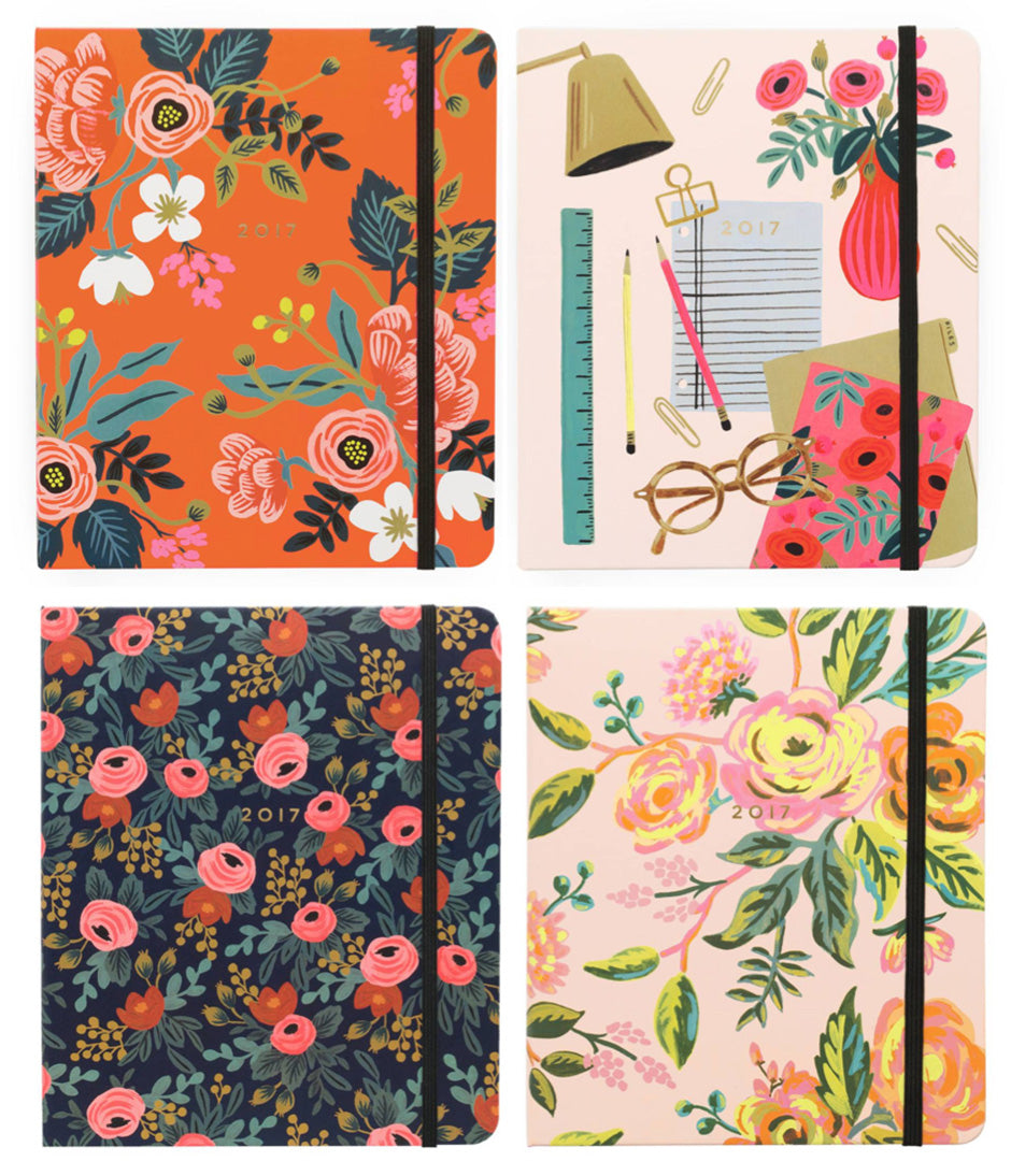 rifle paper co planners 2017