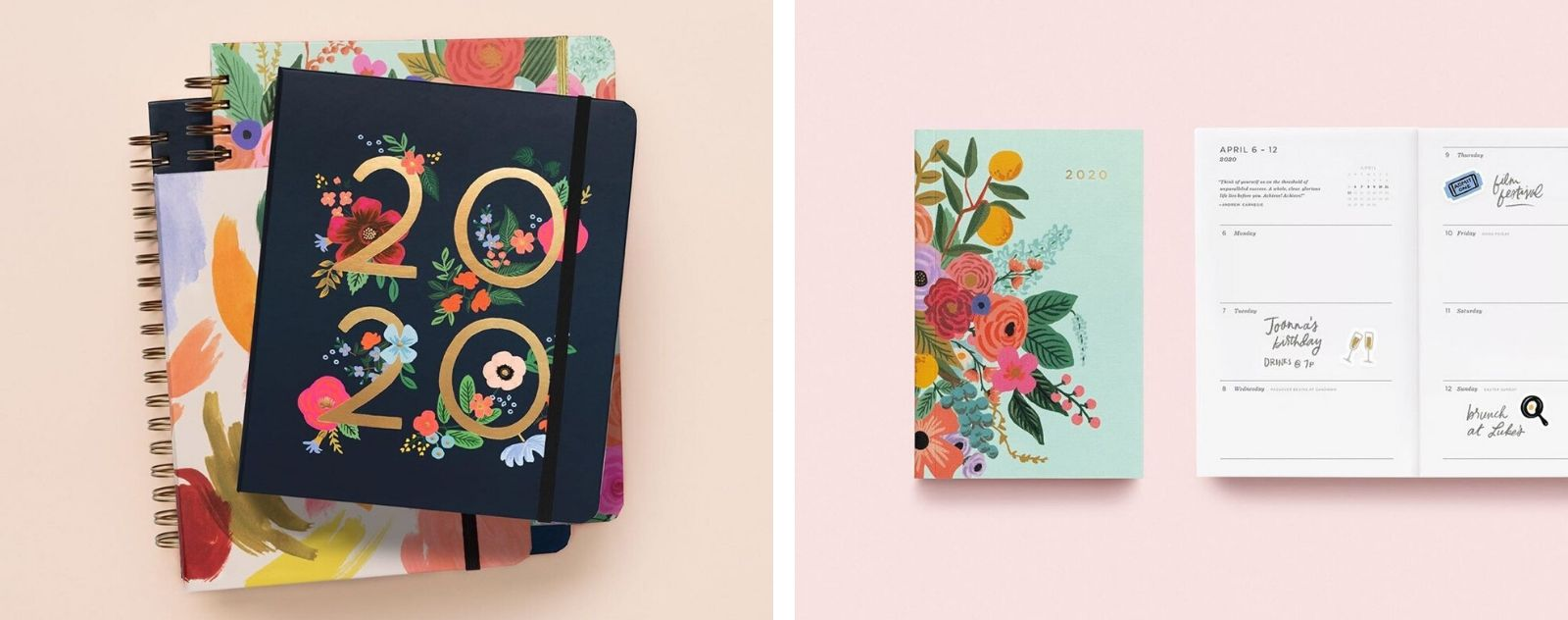rifle paper co diaries and calendars
