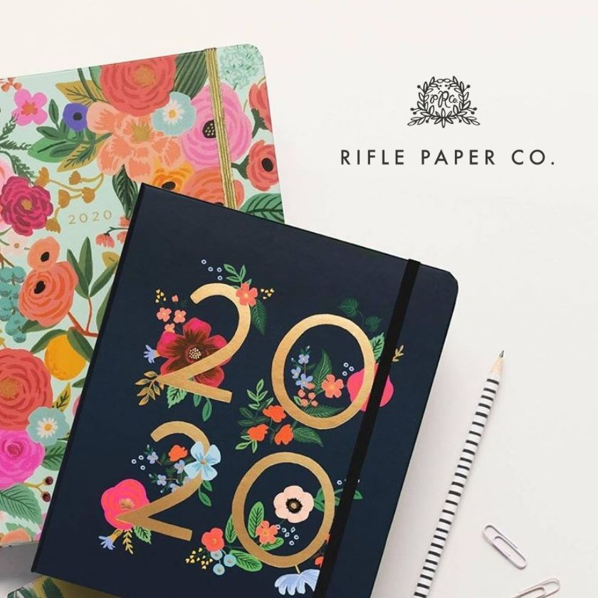 rifle paper co 2020 planners and diaries