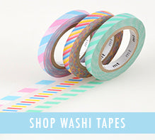 shop washi tapes