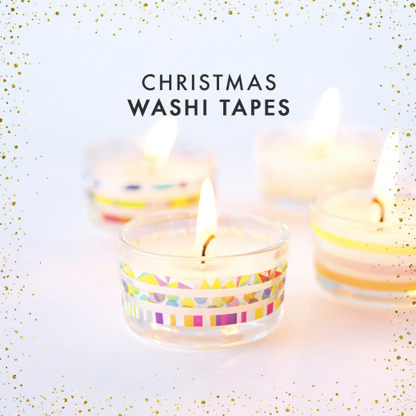 christmas washi tapes