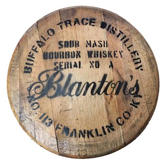 Blanton's Bourbon Barrel Head - Bourbon Outfitter