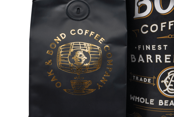 Bourbon Barrel Aged Brazil Single Origin Coffee (Whole Bean) - Bourbon Outfitter