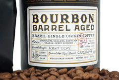Bourbon Barrel Aged Brazil Single Coffee (Whole Bean) - Bourbon Outfitter