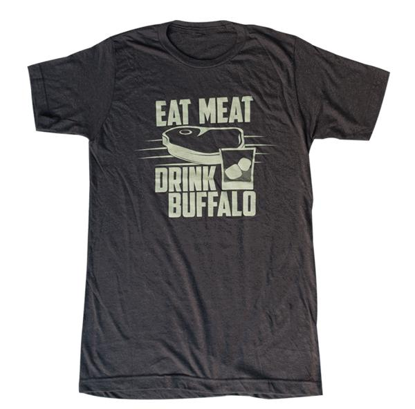 Buffalo Trace Eat Meat T-Shirt - Bourbon Outfitter