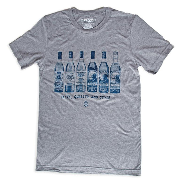 Van Winkle Bottle Collection T-shirt - Bourbon Outfitter