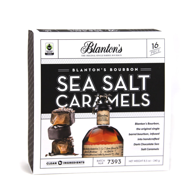 Blanton's Bourbon Dark Chocolate Sea Salt Caramel