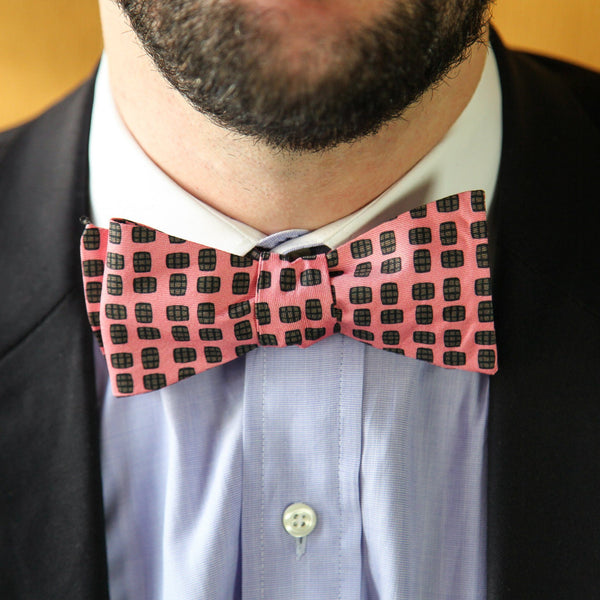 Barrel Aged Bowtie, Pink - Bourbon Outfitter