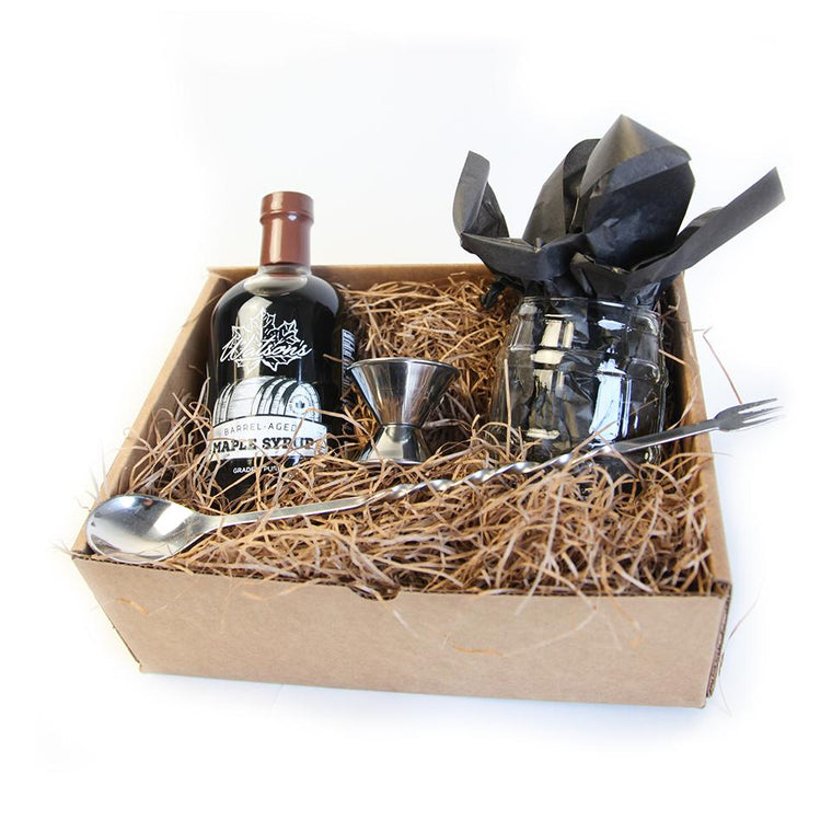 Barrel Aged Maple Syrup - Cocktail Gift Set
